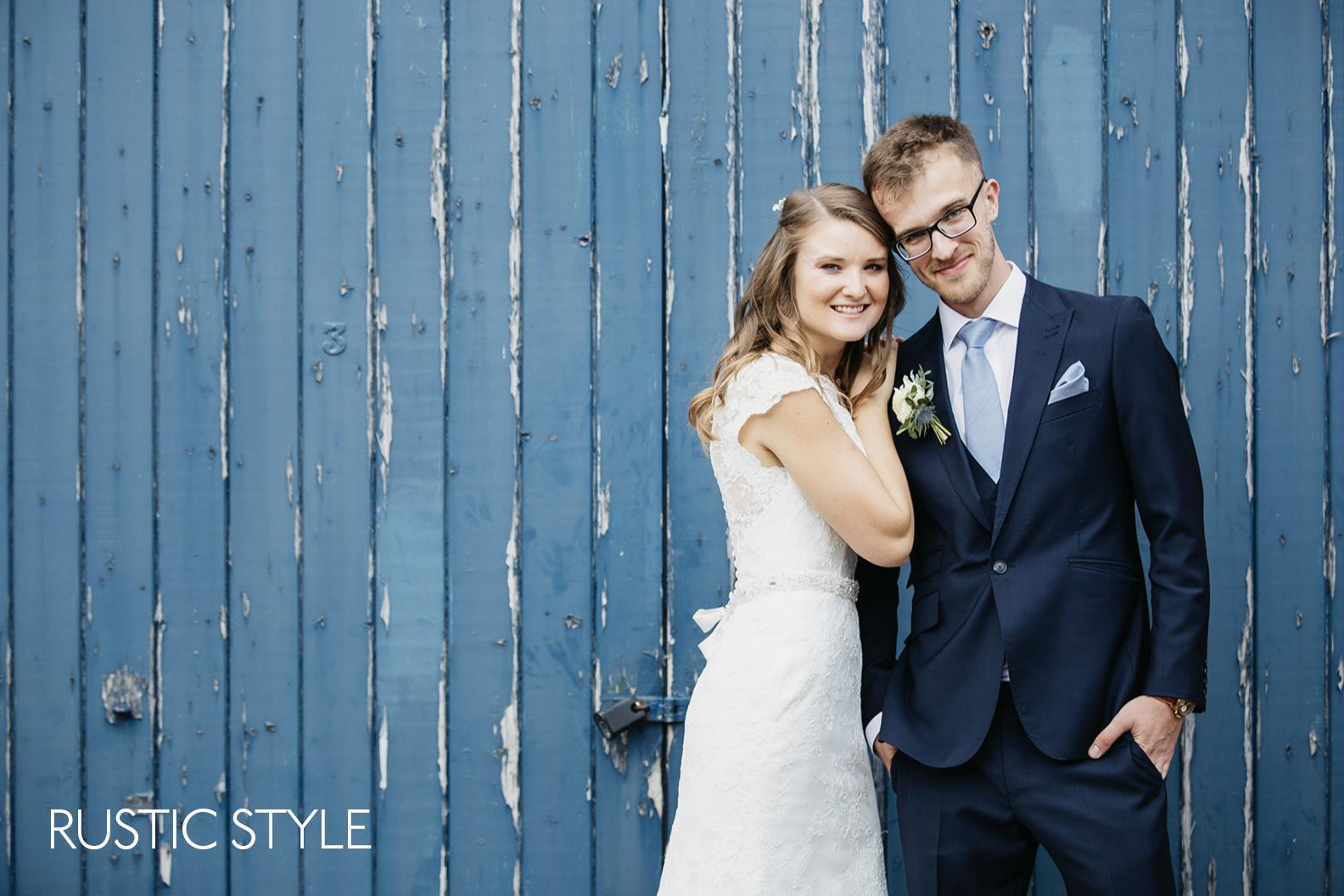 Rustic wedding style